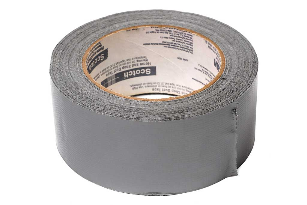 Scotch duct tape roll